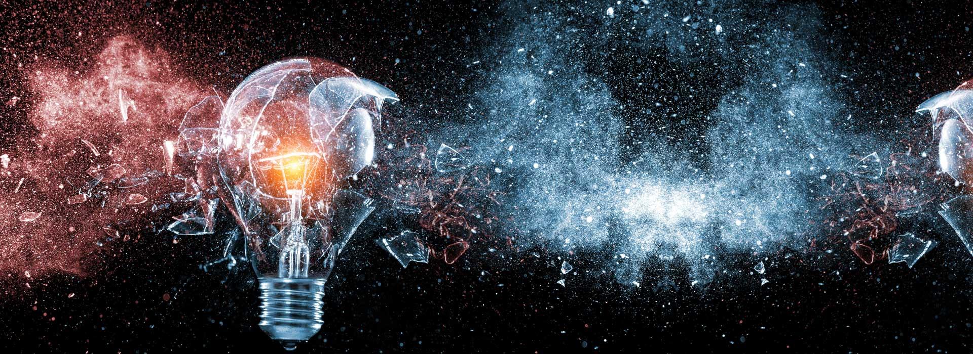 Lichtexplosion